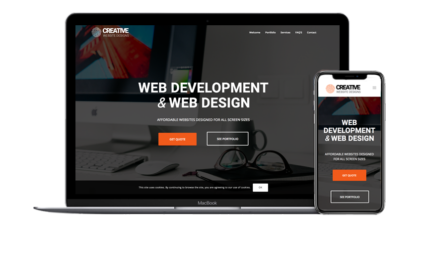 Creative Website Designs | Devices
